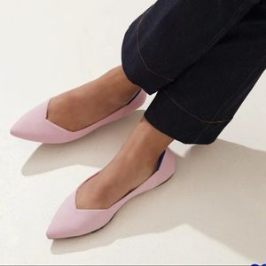 ROTHYS Point Blush Flat size W10